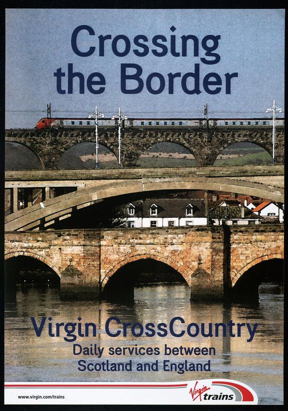 Virgin Trains Poster - 2003.