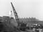 Bolton Halliwell goods crane loading timber, 8th February 1932
