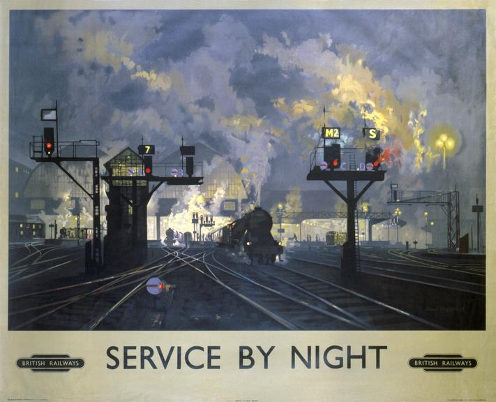 Poster - BRlys - 'Service by Night'