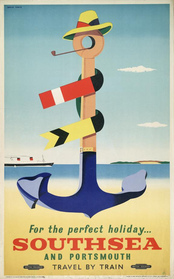 ' For the perfect holiday .. Portsmouth and Southsea ' (poster)