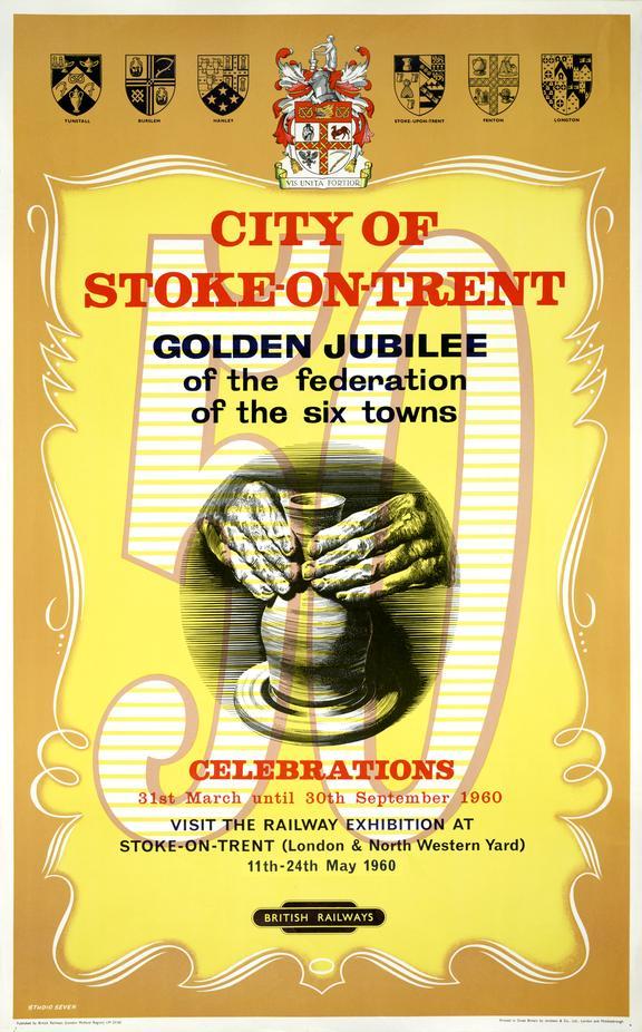 City of Stoke on Trent - Golden Jubilee Celebrations