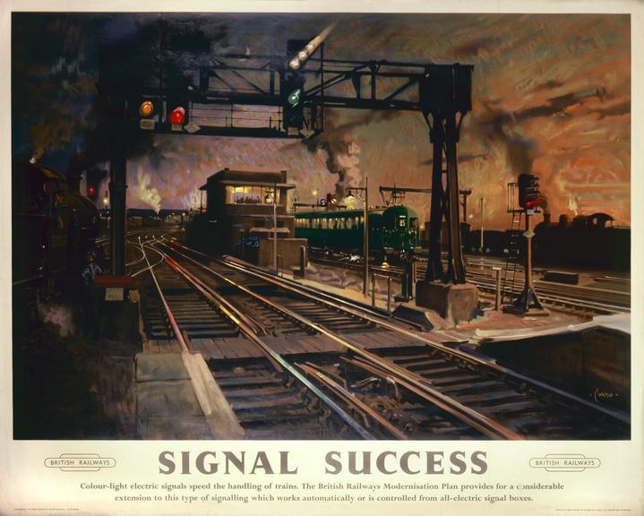 Poster, British Railways (Southern Region), 'Signal Success