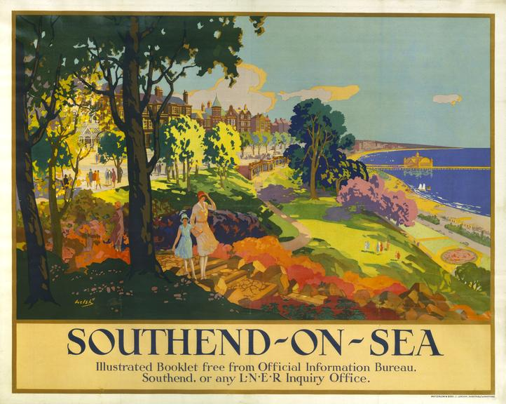 Poster, LNER. 'Southend-on-Sea'