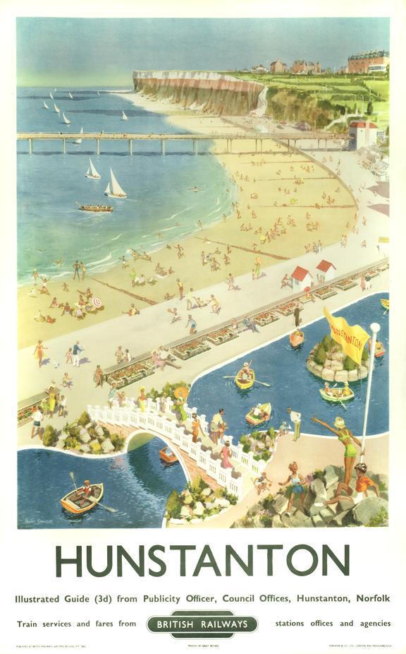 Poster, British Railways (Eastern Region) Hunstanton