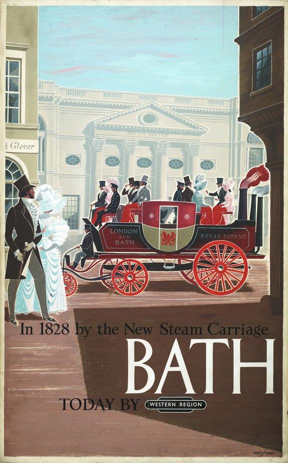 Poster Artwork 'Bath'