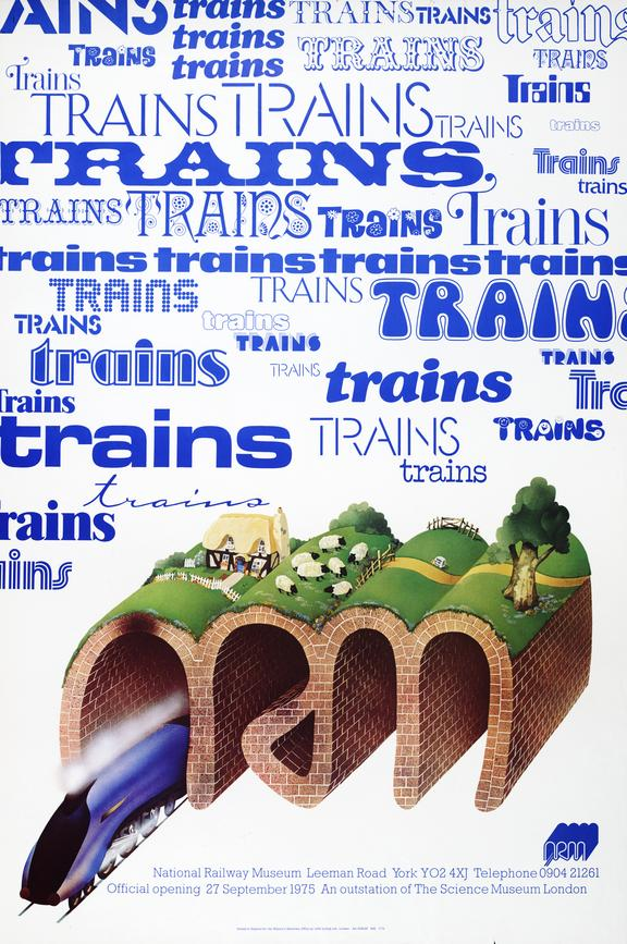 Poster, NRM 1975.