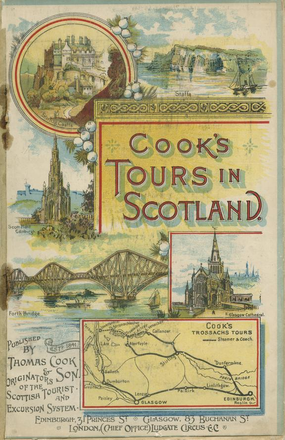 Booklet, Cook's Tours in Scotland