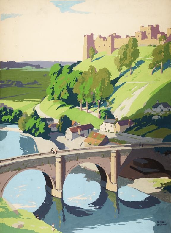 Wales, by Frank Sherwin, British Railways poster artwork, 1949