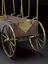 Group shot of 1927-1821, Model carriage body, made by George Adams, London, England, 1762 and 1927-1827 Model carriage