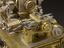 Ornamental turning 'rose-engine' lathe, unsigned, German, 1750-1888.  Watchmaker's lathe.  Hand and Machine Tools.