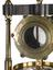 1927-2058: Mahogany cross-piece for an air pump.1927-1326/1: Brass cylindrical condenser with glass ends, made by