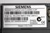 Sinamics variable speed electric motor drive makers label made by Siemens in Congleton, Cheshire..Photographed on a