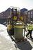 Gas holder move by National Gas into Gas Gallery..Gas holder used as a meter and engine testing device, traditionally