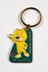keyring; 2002 Manchester Commonwealth Games keyring featuring the Kit mascot and the caption 'Hit up the