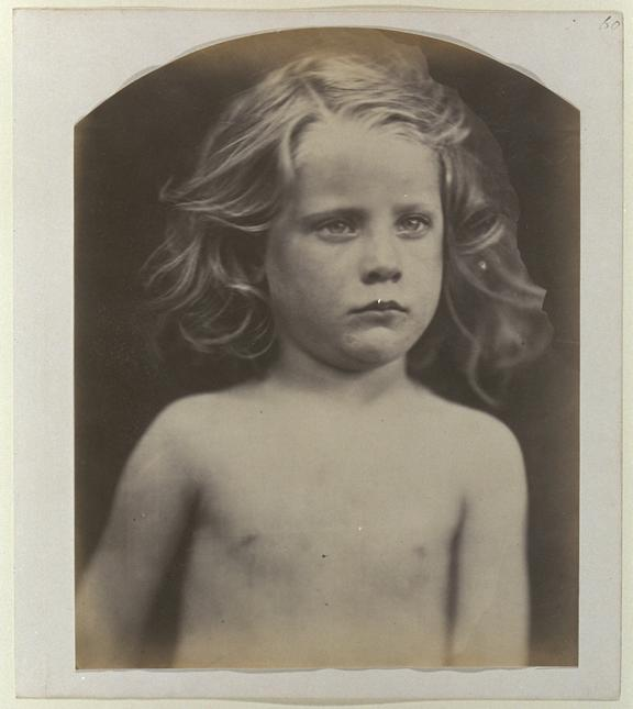 'Young Astyanax', 1866       A photographic study of William Frederick 'Freddy' Gould (born 1861)