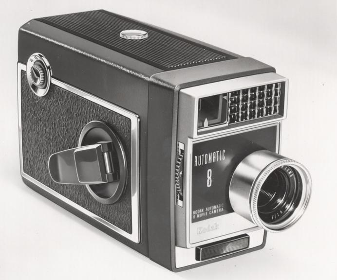 Kodak Automatic 8 Movie Camera       The Kodak Automatic 8 Movie Camera is a single speed 8mm Movie Camera having automatic exposure control and powered by