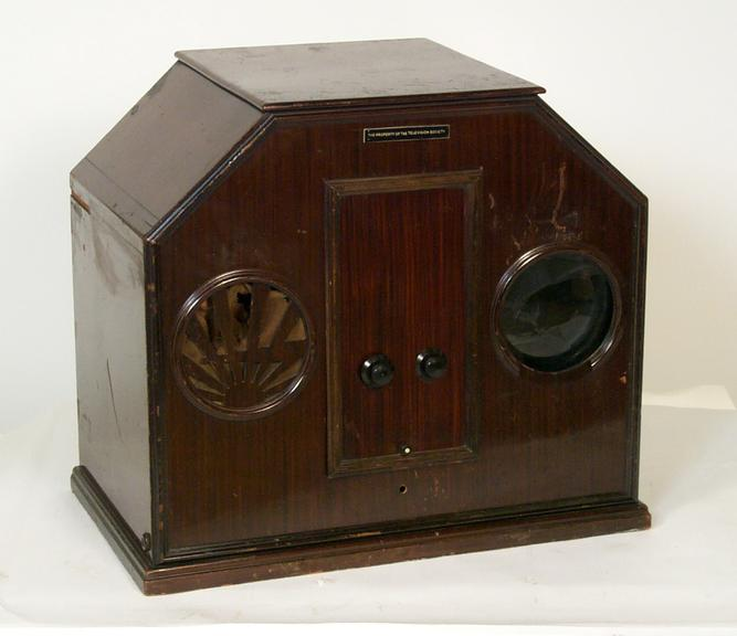 """Baird Model B Televisor       Baird Model B Televisor (also known as a """"Noah's Ark Televisor), from 1929"""