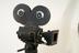 Newall 35mm camera on a Vinten pedestal