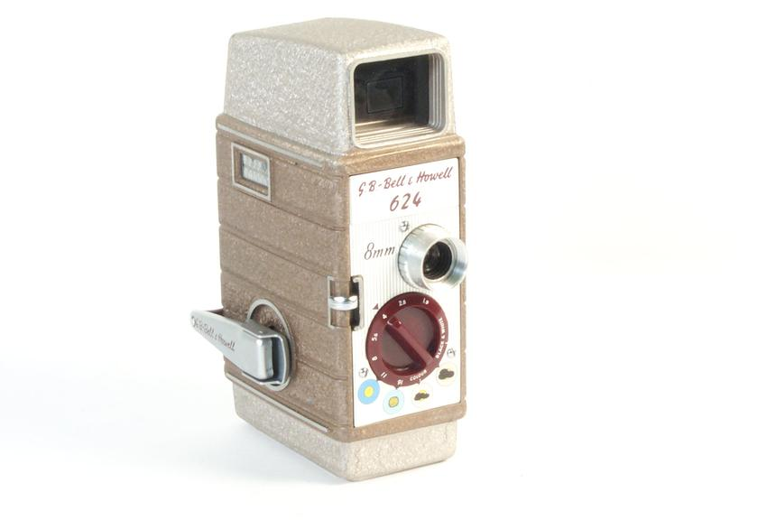 GB Bell and Howell 624 8mm cine camera, 1956