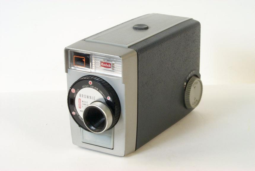 Kodak Brownie 8 8mm Movie Camera Science Museum Group Collection