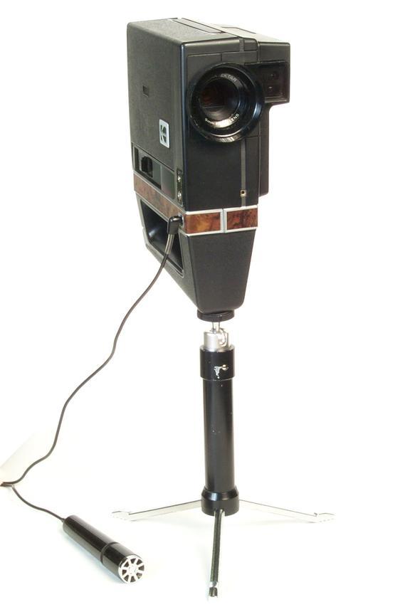 Kodak Ektasound 130 Super 8 Camera with microphone