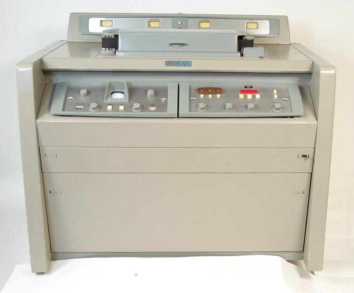 Ampex VR1000 video recorder       Ampex VR1000 2 inch quadruplex videorecorder  (tape transport only shown here)
