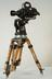 Arriflex ST 16mm cine camera       This Arriflex ST 16mm camera is shown on a pan-and-tilt head mounted on baby legs