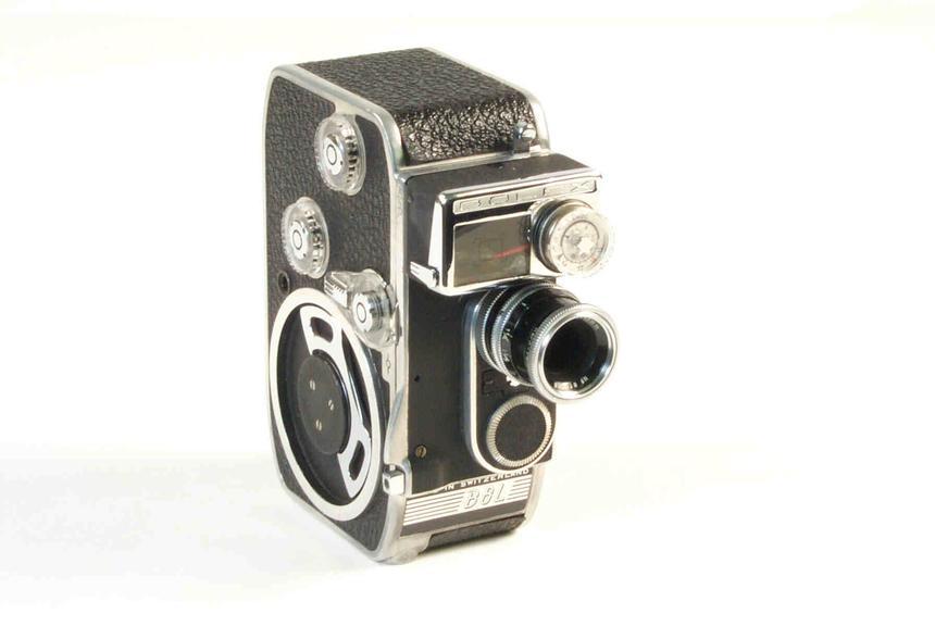 Paillard-Bolex B8L 8mm cine camera