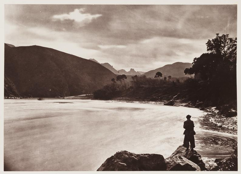 'Yuen Fu Rapid'       A photograph of rapids on the River Min, China, taken by John Thomson [1837-1921] in about 1871