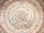 Porcelain bowl, with charm inscription, Islamic. Detail of inscription at centre of bowl.