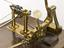Machine to winding cotton into balls, invented by Sir Marc Isambard Brunel in 1802. Detail of mechanism to roll the