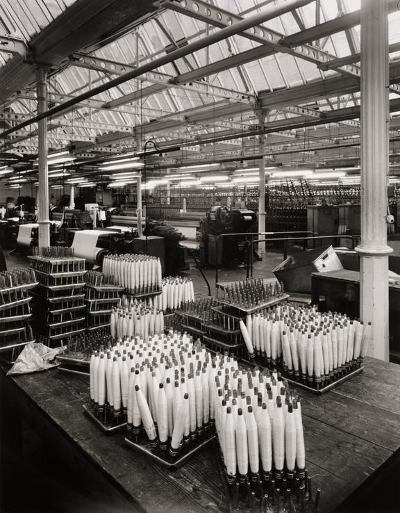 'Silk Spinning, Lister's Mill, Manningham, Bradford', 1986