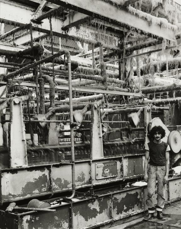 'Wool scouring, Whiteheads Mill, Bradford', about 1986