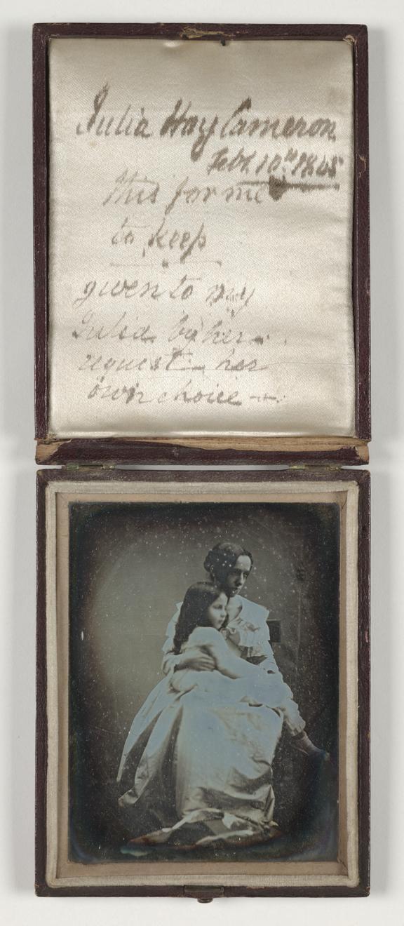 Portrait of Julia Margaret Cameron with her daughter, Julia