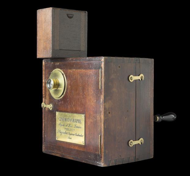 Lumière cinématographe (body no 254), c.1895