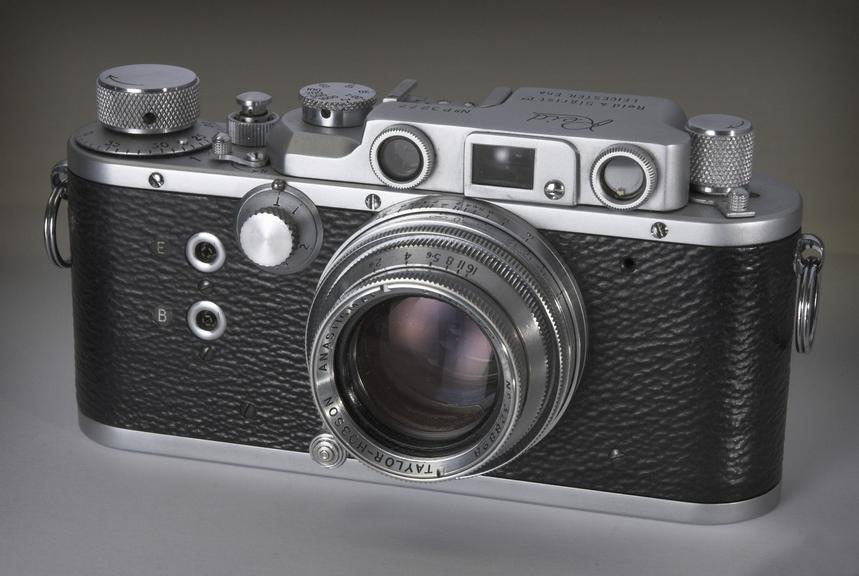 Reid III camera       Reid III camera, made by Reid and Sigrist, Leicester, 1947-1964