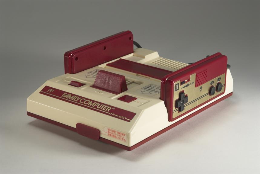 Nintendo Famicom Games Console       Nintendo's first foray into the home console market