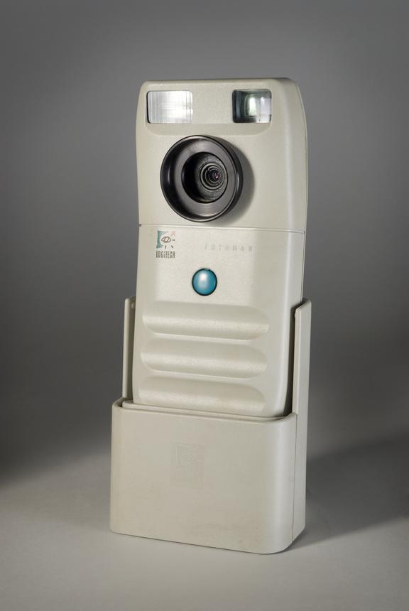 Logitech FotoMan monochrome digital camera