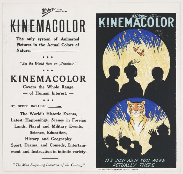 Kinemacolor advertisement