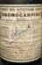 Glass bottle, contains bromocarpine nerve tonic made by G.Rocher of Paris, supplied in England by Roberts and Co. of