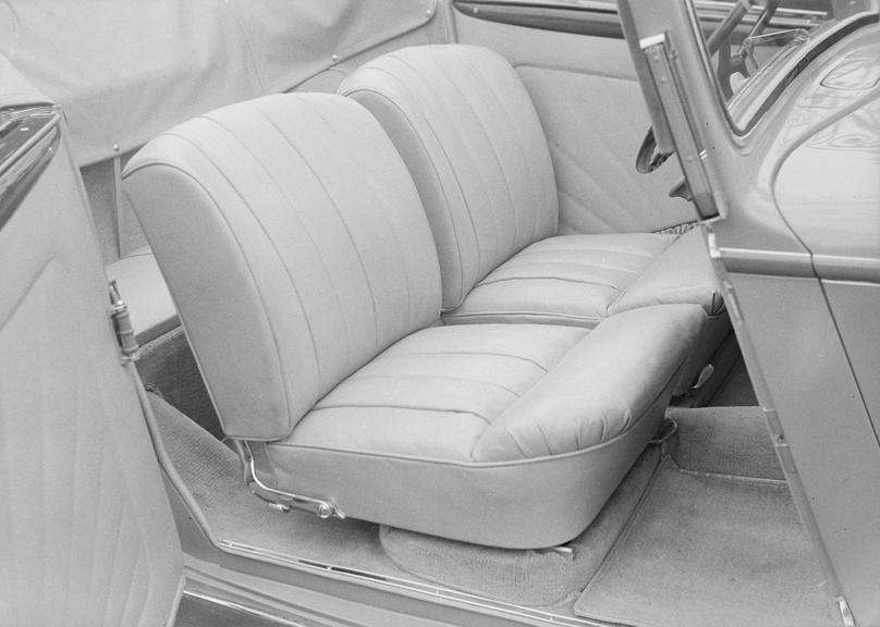 Interior of a BMW car