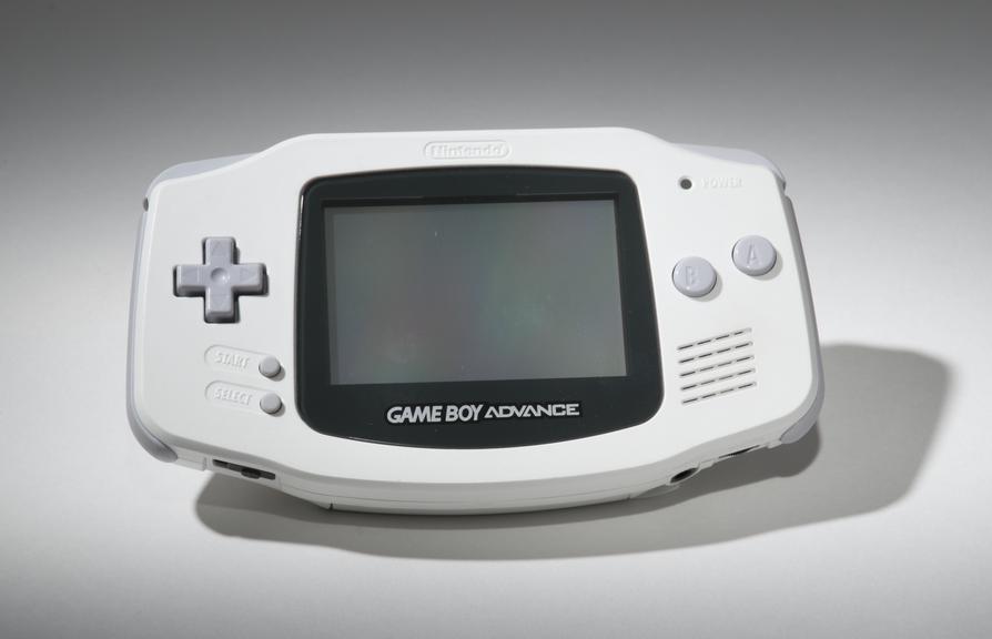Nintendo Game Boy Advance handheld console, model AGB-001