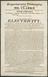 Handbill: Mr Clarke.... Course of Lectures, ...on ... Electricity Birmingham. [182-] 34x21cm.  Copywork.