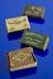 """From the top, 1st and 3rd box - A655224, Two chipboard matchboxes containing """"Flaming Fusee"""" Vesuvian matches for cigar"""