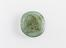 One of a selection of thirteen Arabic Glass weights dating from AD952 to about AD1400.  Part 5 - Arabic glass standard