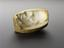 "Plaster mould, Boulton death mask, oval 3 3/4"" x 3"". Oblique view on graduated grey background"