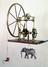 Compound engine, 1762. George Adams,who made this engine for King George III, described it as 'one of the simplest and