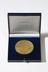 medal in case; awarded to Boddingtons Brewery, 1989Photographed on a white background.