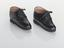 Pair of lace-up shoes for bound feet, bought in Kumming, Yunnau Province, China, for 12 Yuan in 1983. SCM - Oriental