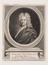 Edmund Halley (1656-1742). Portrait, engraving.